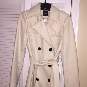 Cream Coat from Express size xs